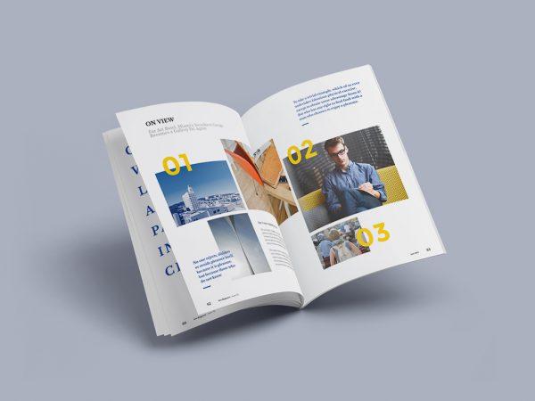 نمونه پروژه ۱ – مجله